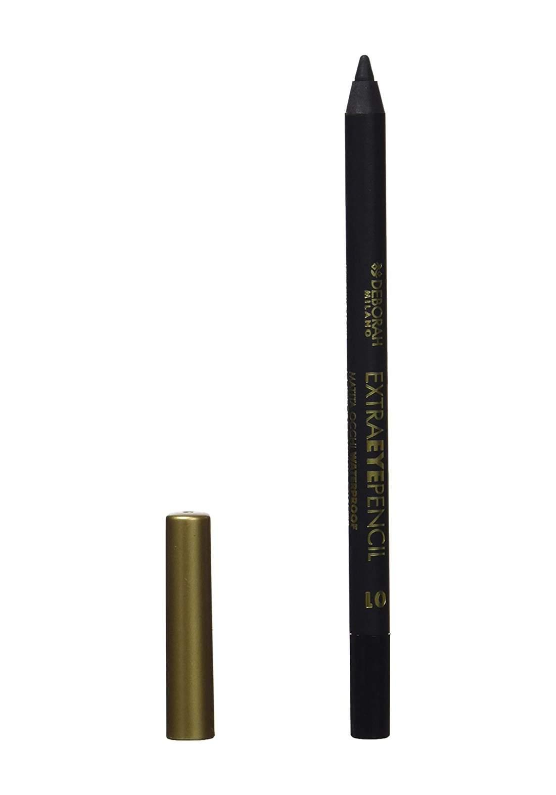 Deborah Milano Extra Pencil Eye Pencil 01 قلم كحل