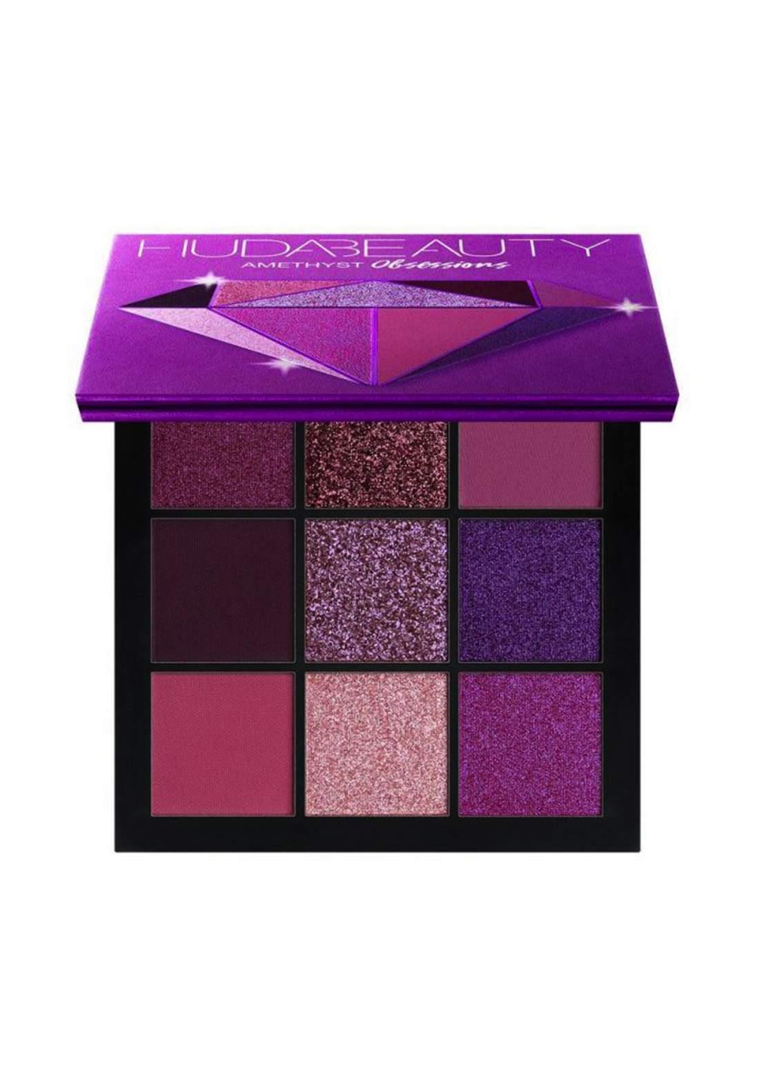 Huda Beauty Obsessions Eyeshadow Palette Amethyst 10g علبة ظلال
