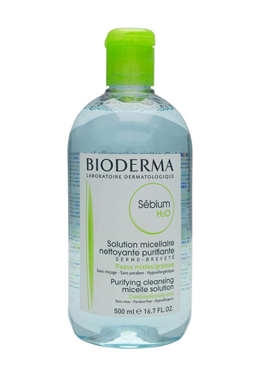 Bioderma Sebium H2O 500ml Micellaire مزيل مكياج