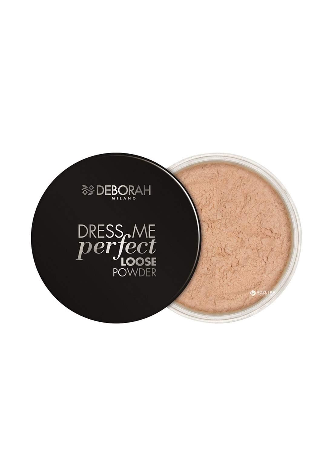 Deborah Milano Dress Me Perfect Loose Powder - Shade 00 بودرة