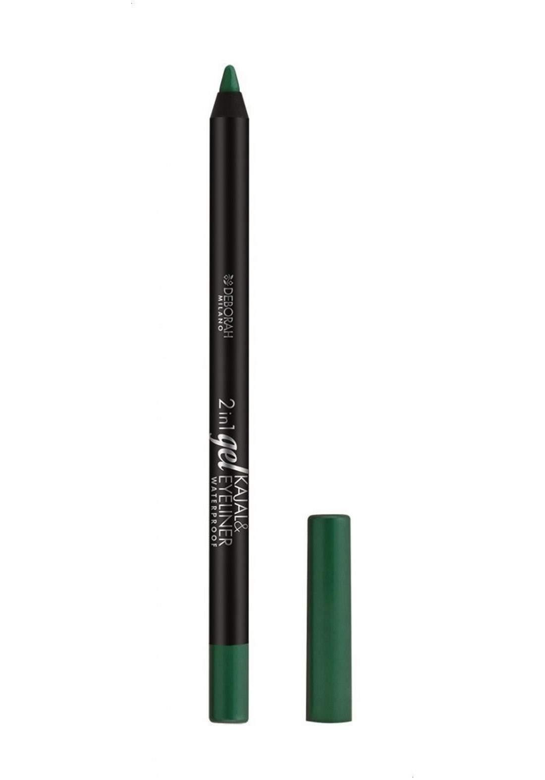 Deborah Milano 2-in-1 Eye Liner, Light Green - No. 11 كحل للعين أخضر اللون