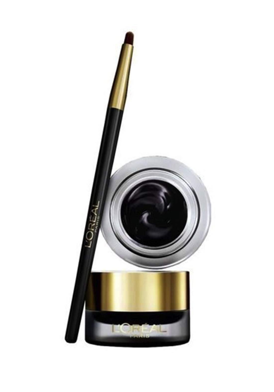 L'oreal Superliner Gel Intenza Eyeliner - 02 Golden Black جل لاينر
