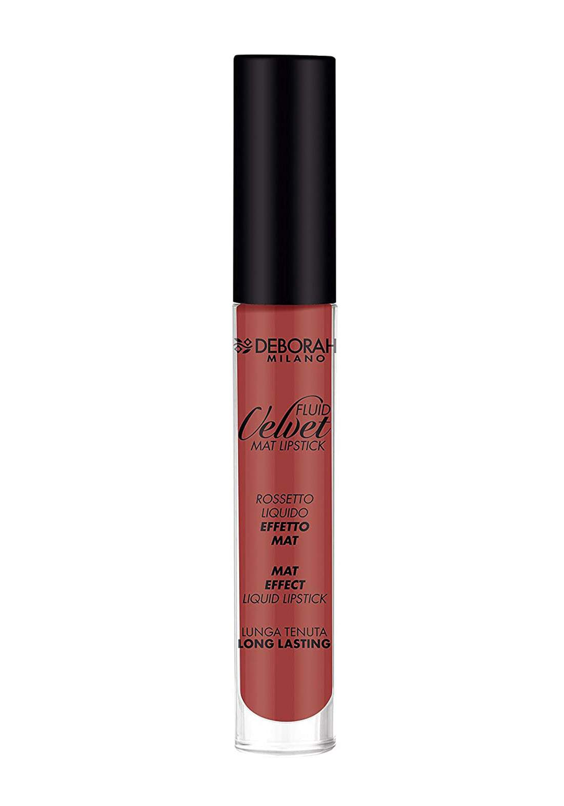 Deborah  Fluid Velvet Mat Lipstick 22 Pink أحمر شفاه