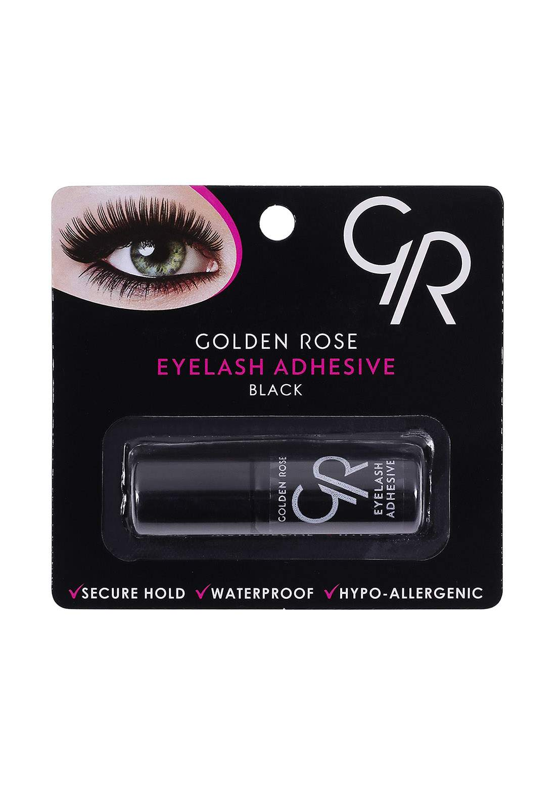 Golden Rose Waterproof False Eyelashes 100 grams صمغ رموش