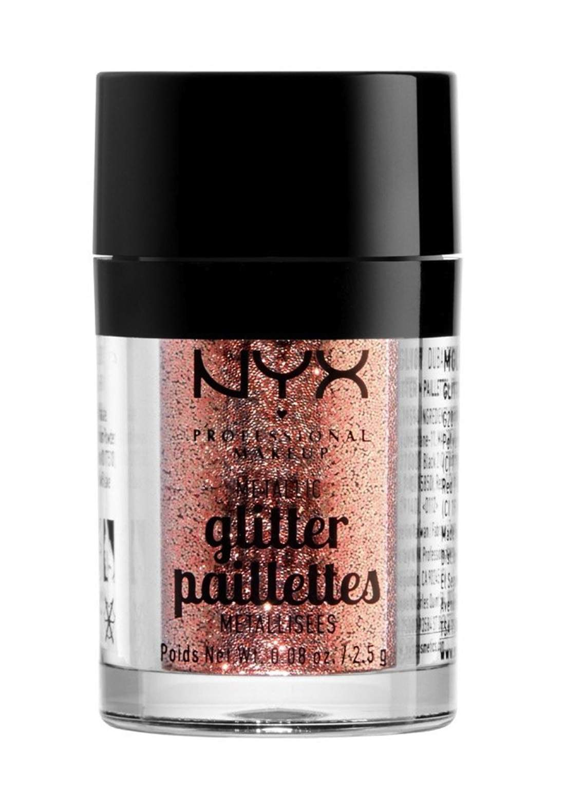 Nyx Professional Makeup Metalik Glitter  Metallic Glitter Dubai Bronze جلتر