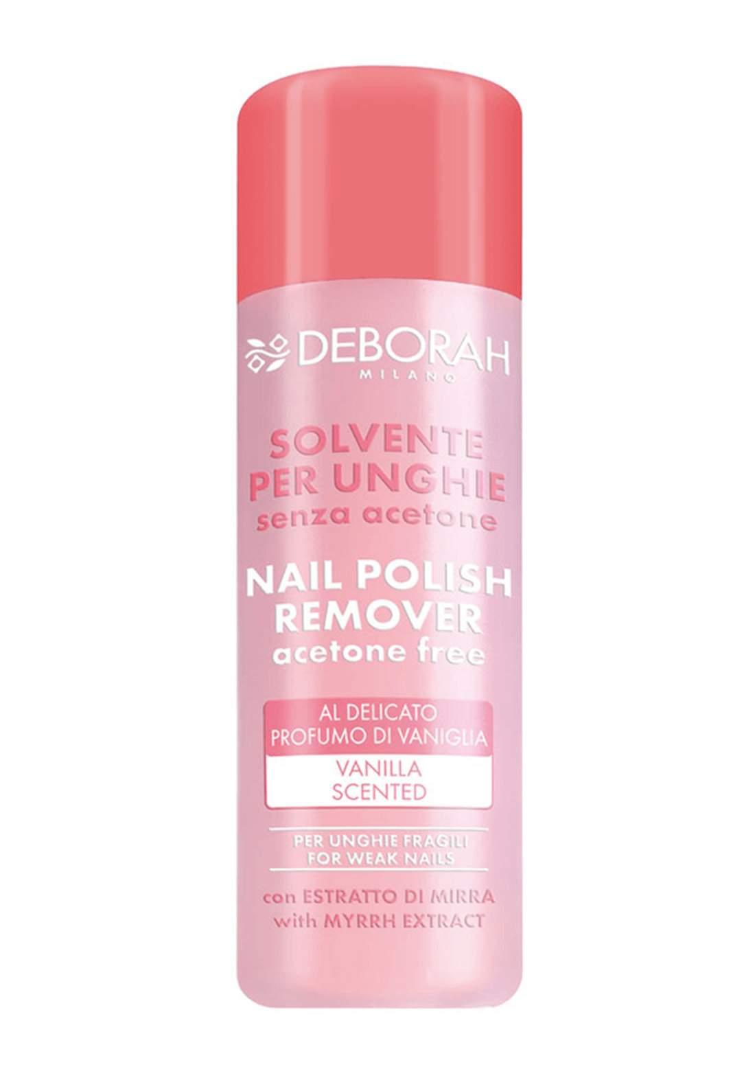 Deborah Nail Polish Remover nail polish remover  120 ml مزيل طلاء أظافر