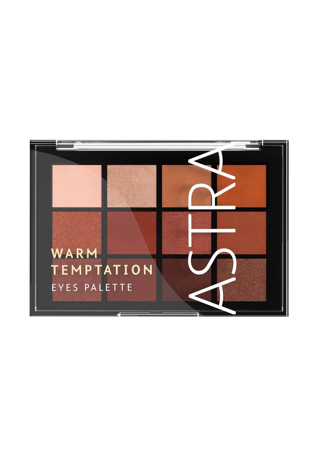 Astra Palette 0002 Warm Temptation Eyeshadow Palette  ظلال للعيون