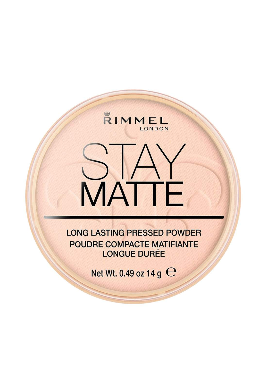 Rimmel London Stay Matte Pressed Powder- 002 Pink Blossom باودر