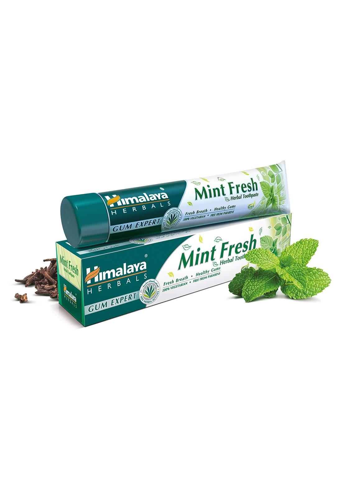 Toothpaste - Mint Fresh 125g هيمالايا معجون أسنان عشبي بإنتعاش النعناع