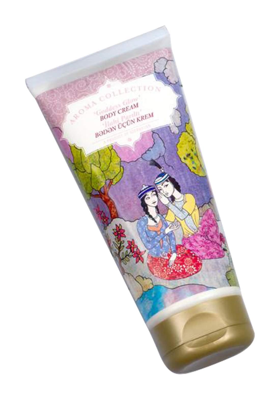 Aroma Collection Goddess Glow Body Cream كريم للجسم