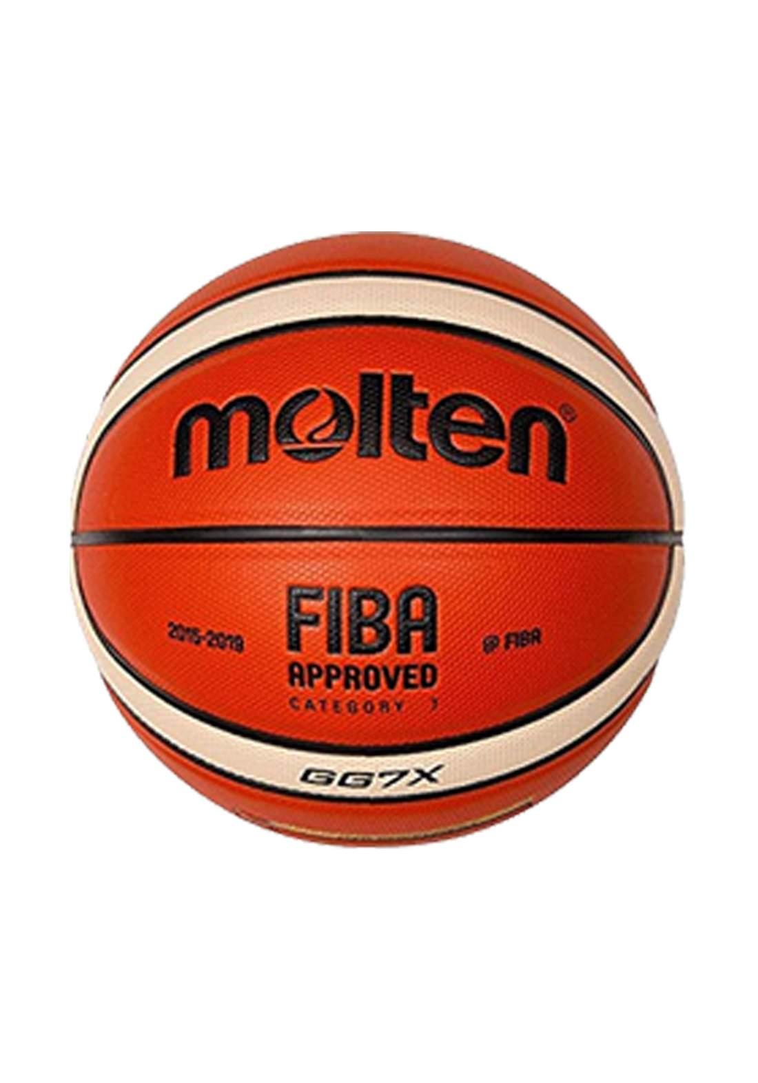كرة السلة من Molten احمر اللون