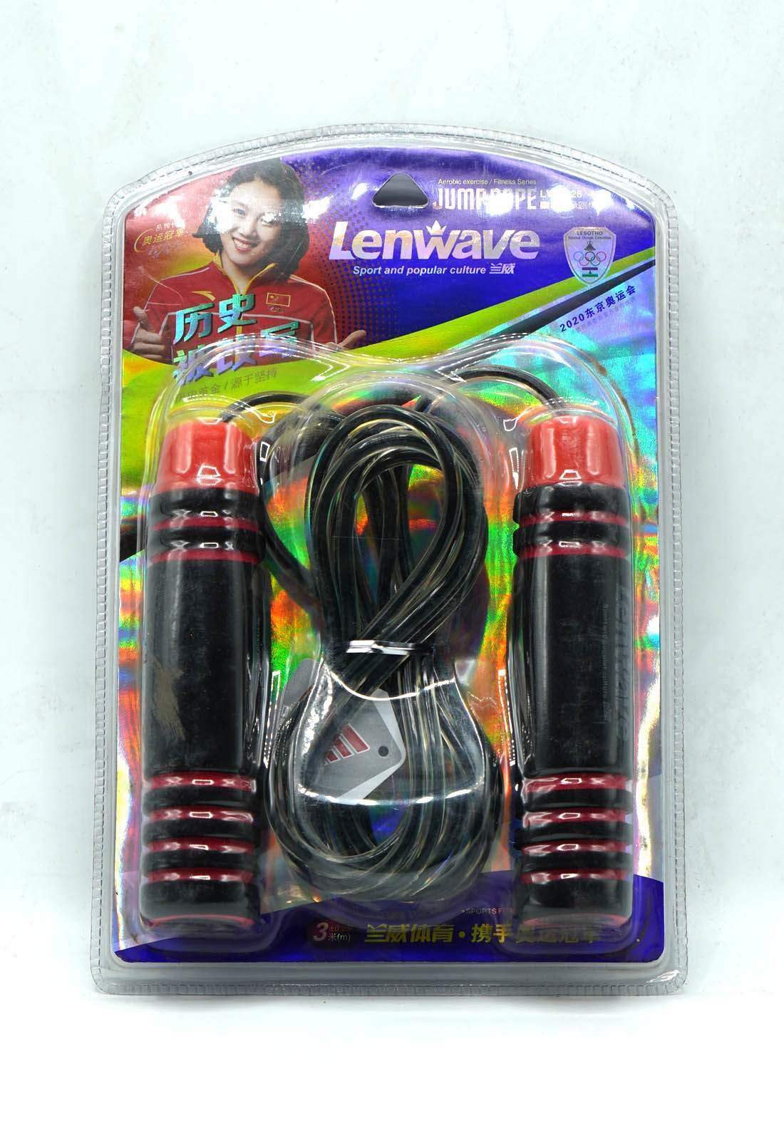 Lenwave LW-0826 J ump Rupe حبل قفز