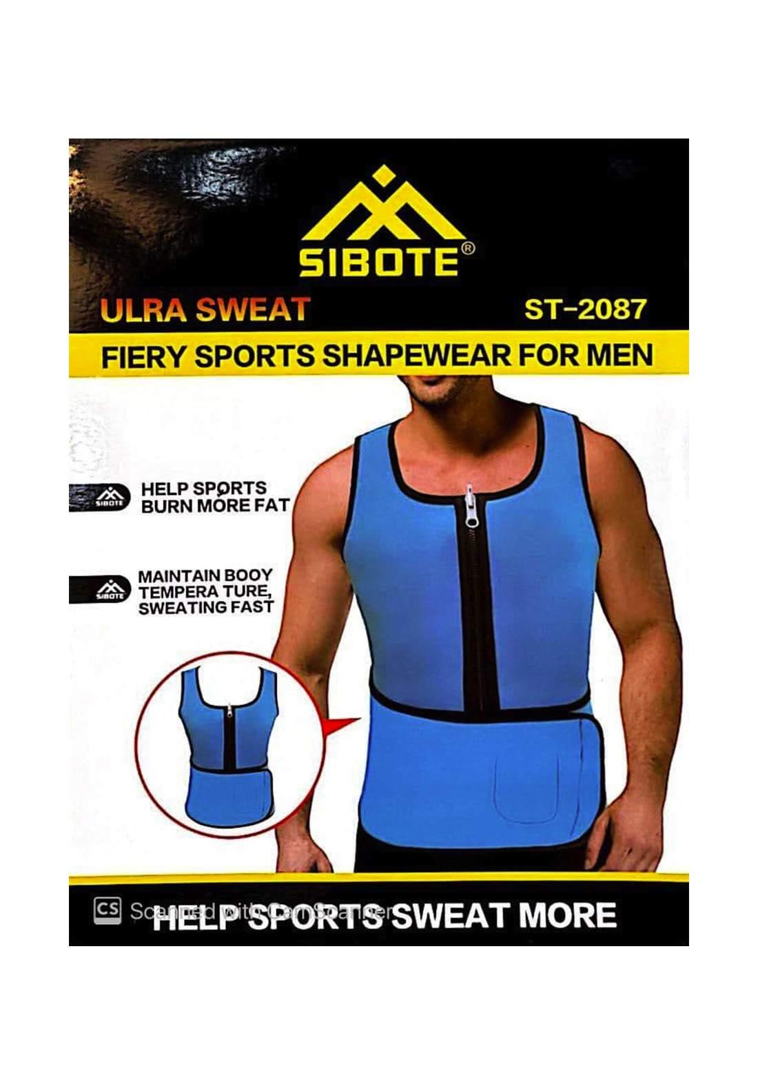 Sibote ST-2087 Fiery Sports Shapewear For Men مشد حراري للرجال