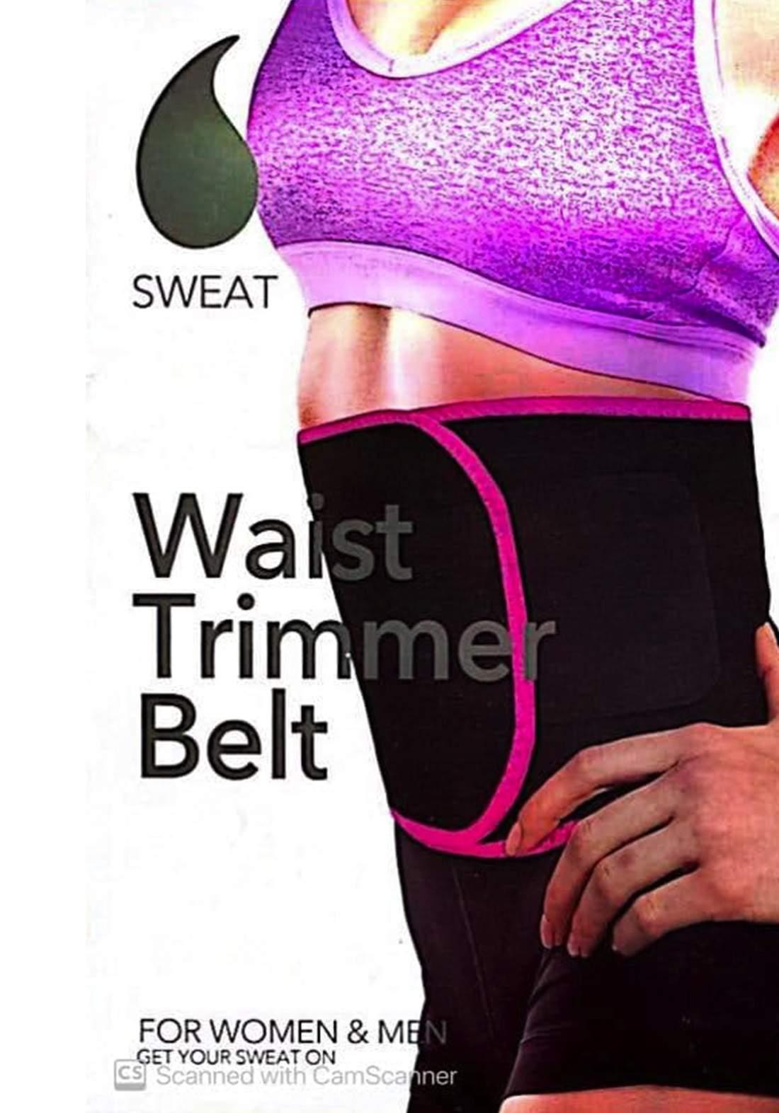 Sweat Waist Belt حزام حراري لمنطقة البطن