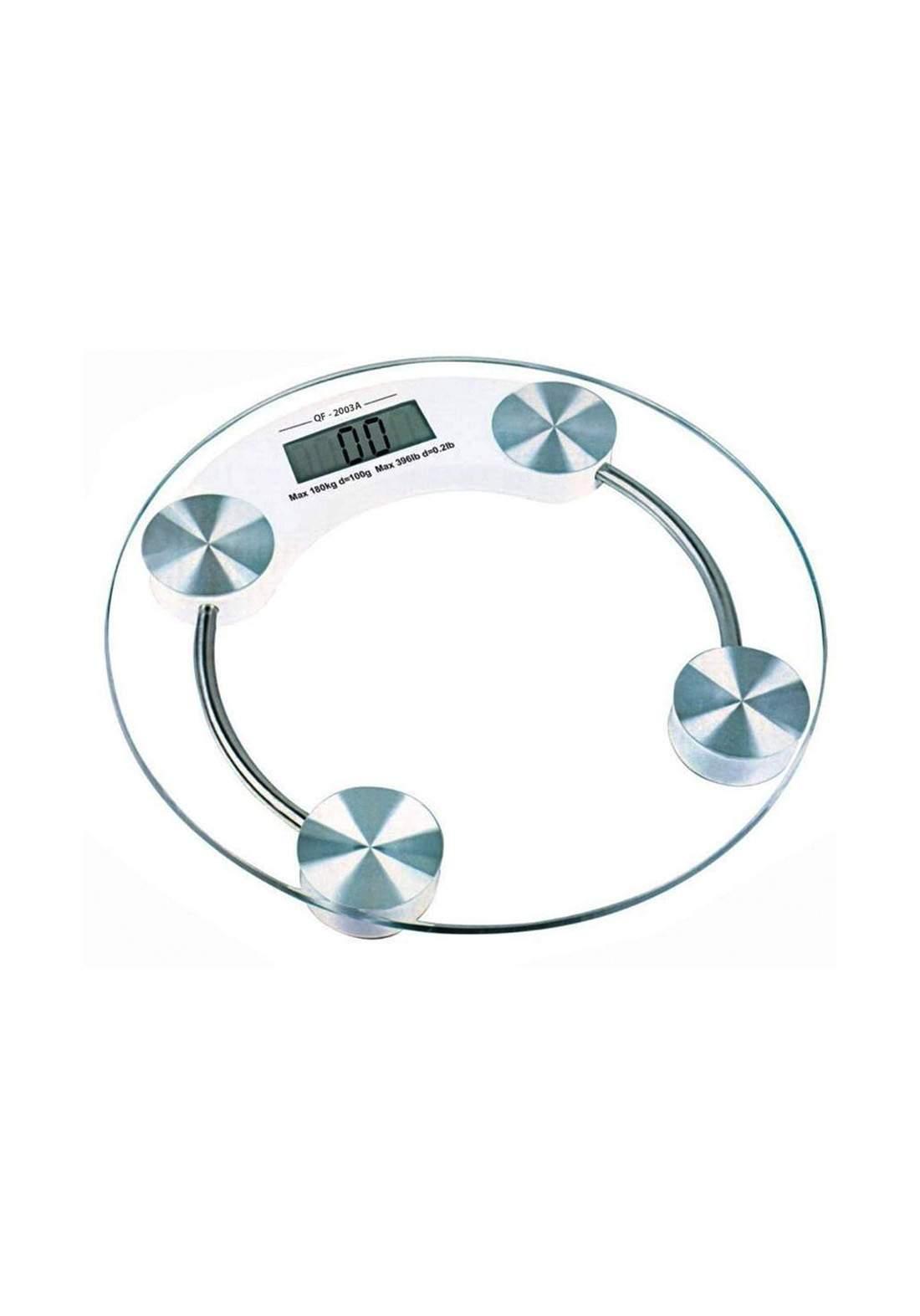 Lanwei LW-0493 Transparent Electronic Scale ميزان رقمي لقياس الوزن