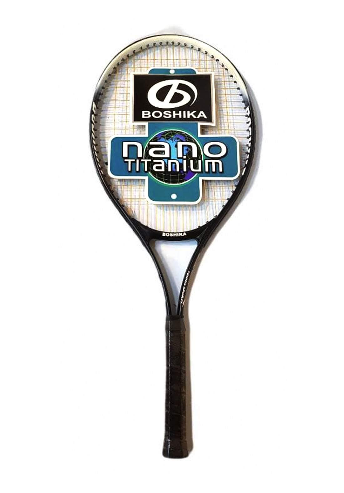 Nano Titanium Tennis Racket مضرب تنس مفرد