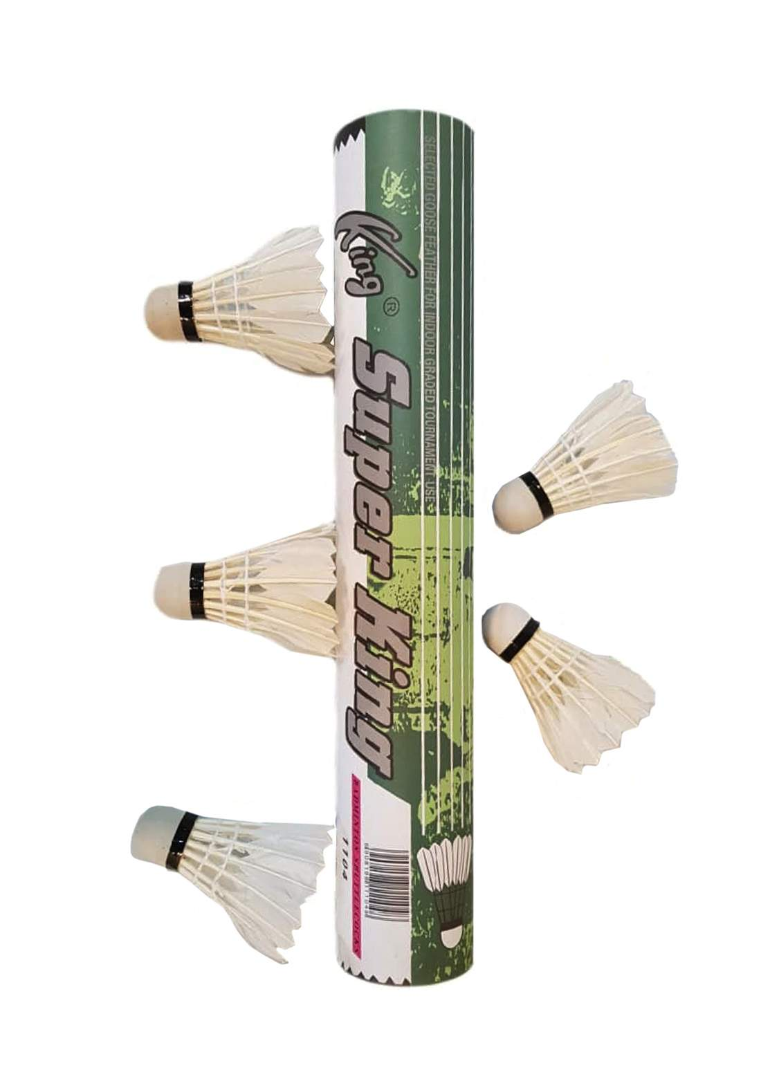 Super King Badminton Ball Set 5 Pcs  سيت ريش تنس