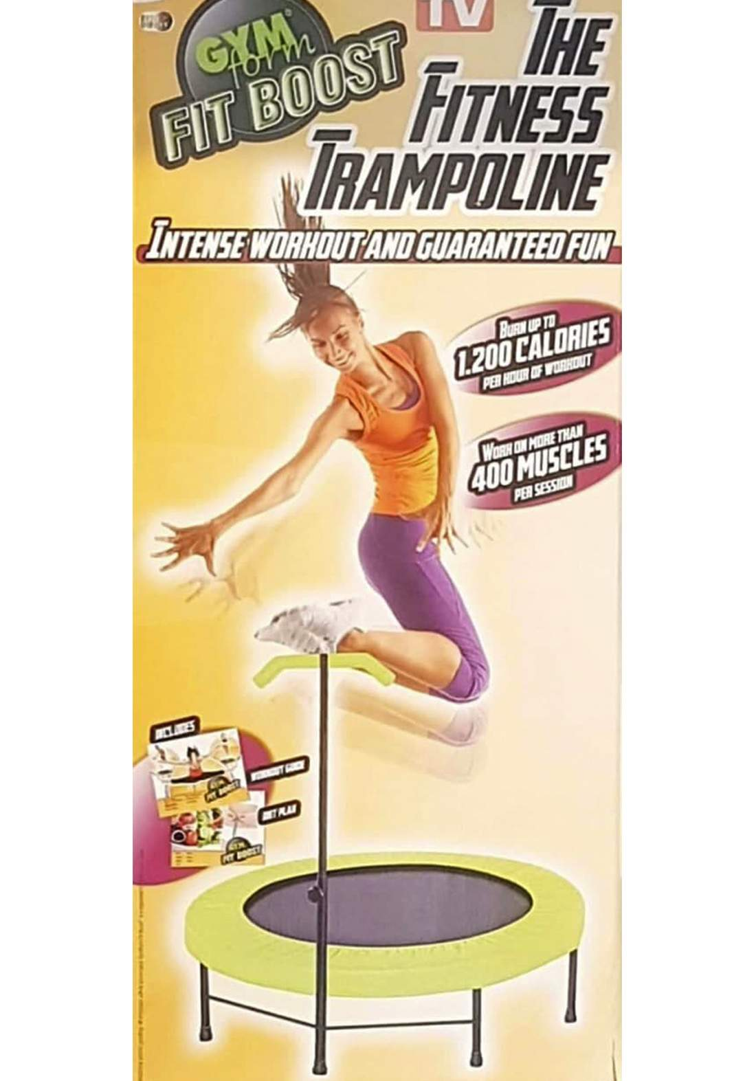 Trampolina Fitness لعبة القفز للرياضة