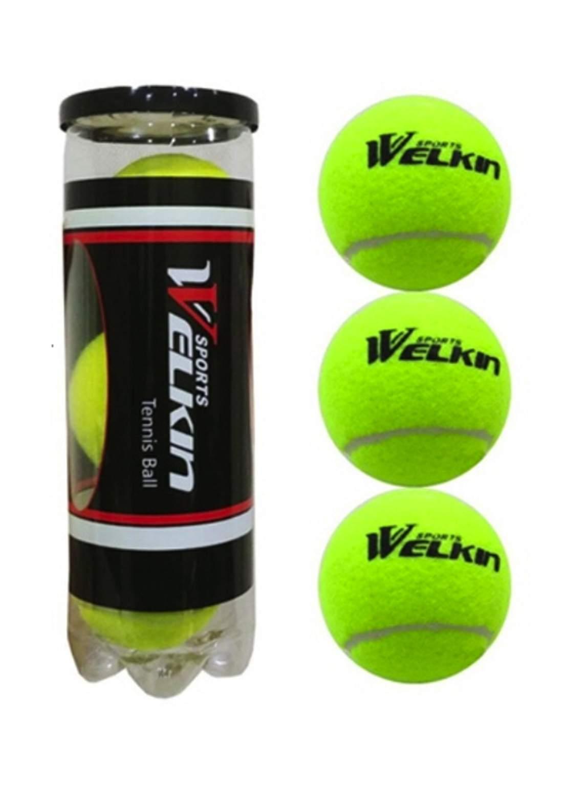 Welkin Tennis Ball Set 3 Pcs سيت كرات تنس