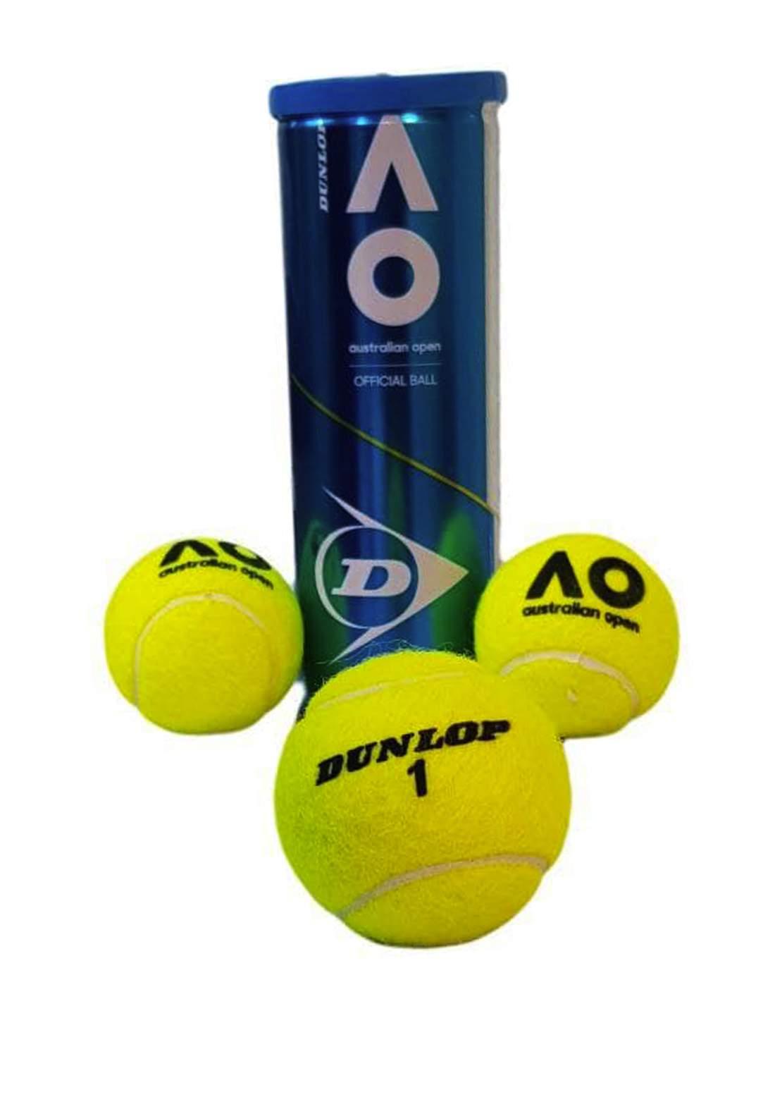 Dunlop Tennis Ball Set 3 Pcs سيت كرات تنس