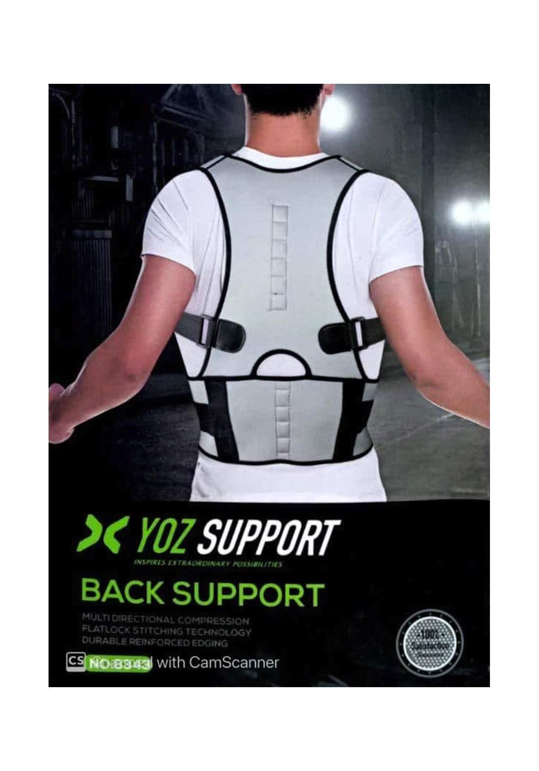 YOS Long Spine Support Brace مشد و حزام الظهر لتقويم العمود الفقري