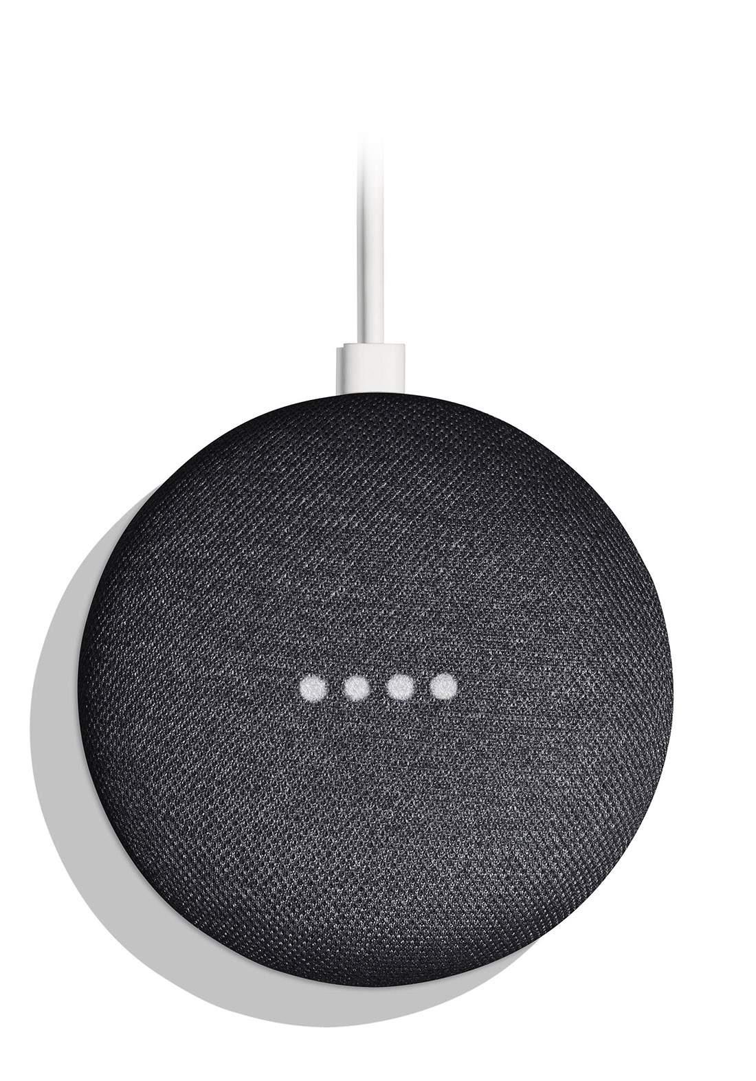 Google Home mini 3rd Generation Black مساعد صوتي ذكي