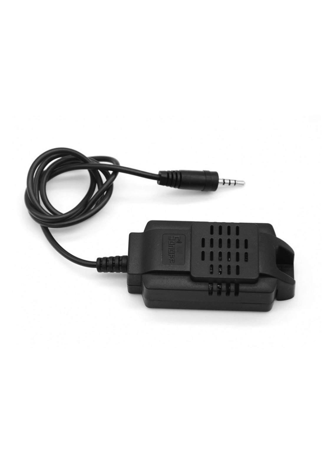 مستشعر لدرجة الحرارة والرطوبة Sonoff Sensor de Temperatura Impermeable Si 7021