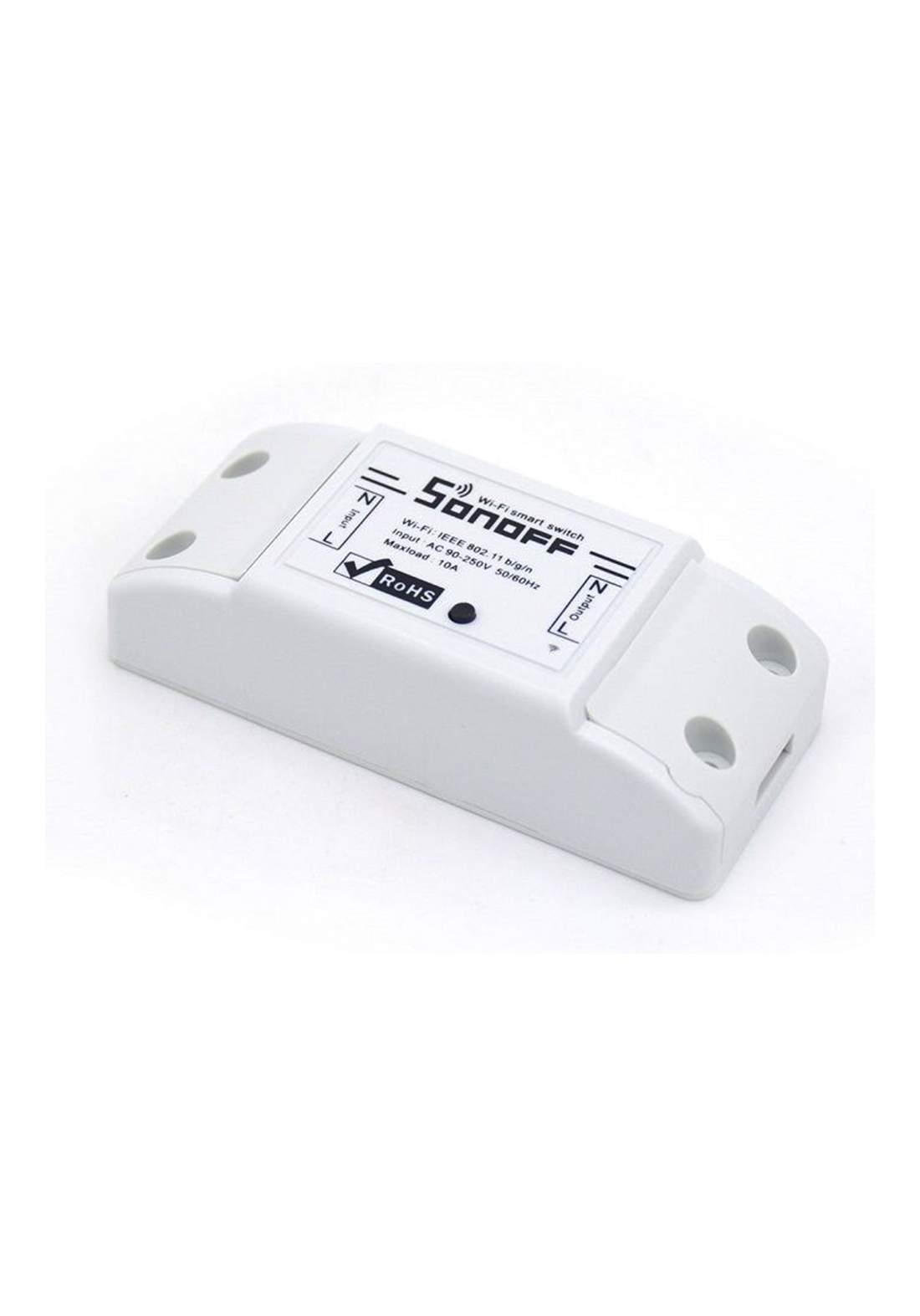 Sonoff Basic Wi-Fi Wireless Switch Kit مفتاح طاقة تحكم عن بعد