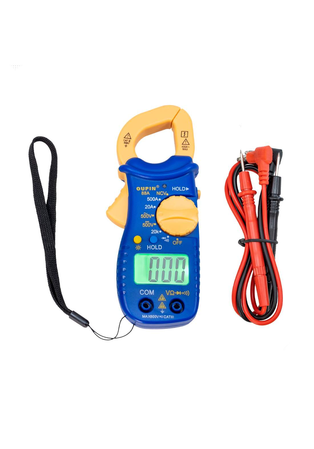 Clampmeter 600 A 400 V جهاز قياس