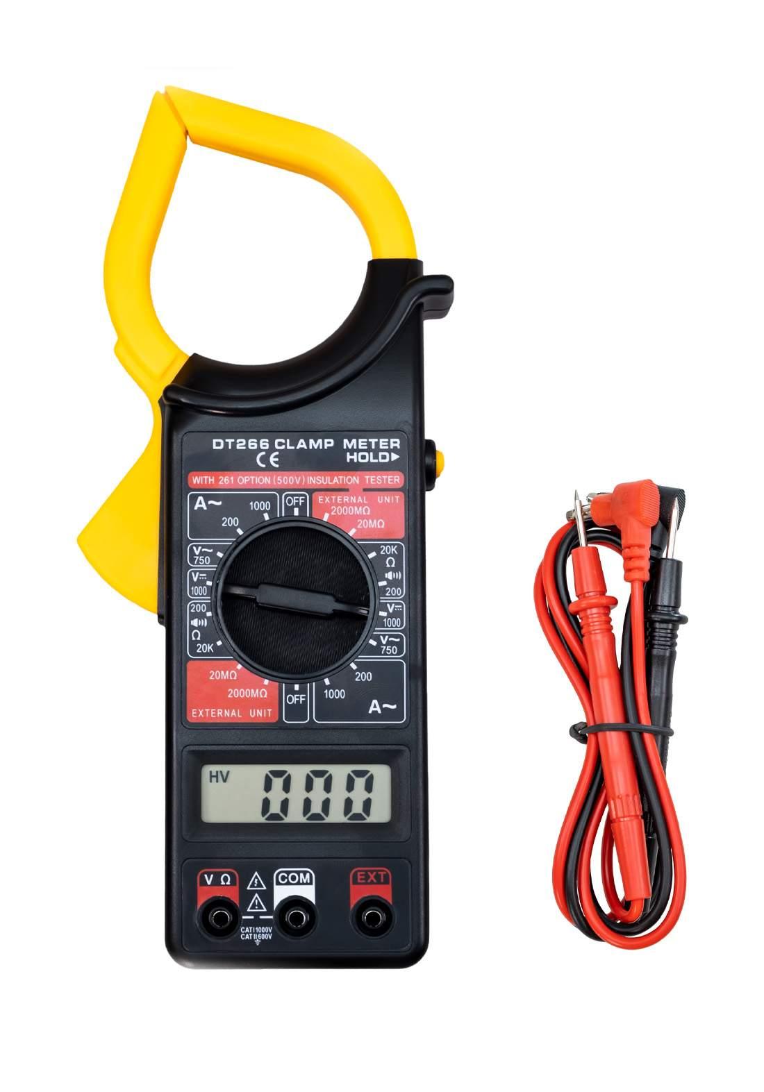 Clampmeter DT266 1000 A 1000 V جهاز قياس
