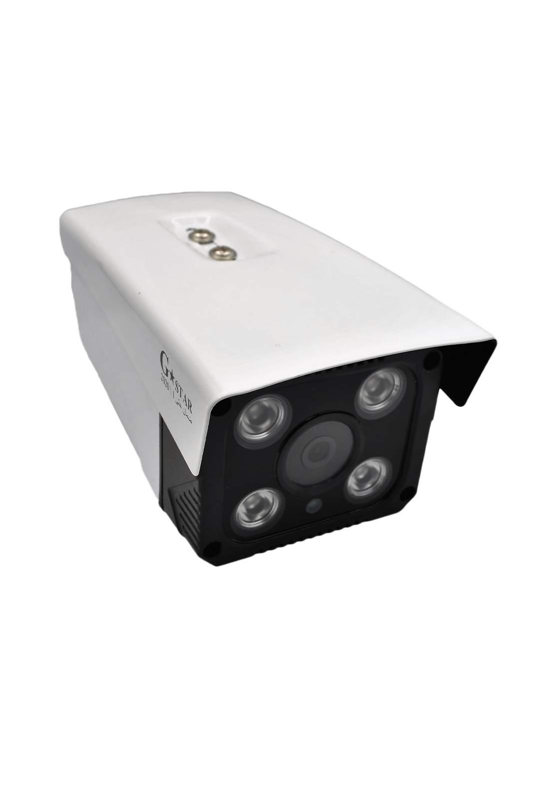 Gstar Analog High Definition Camera AHD 4MP  - White كاميرا مراقبة
