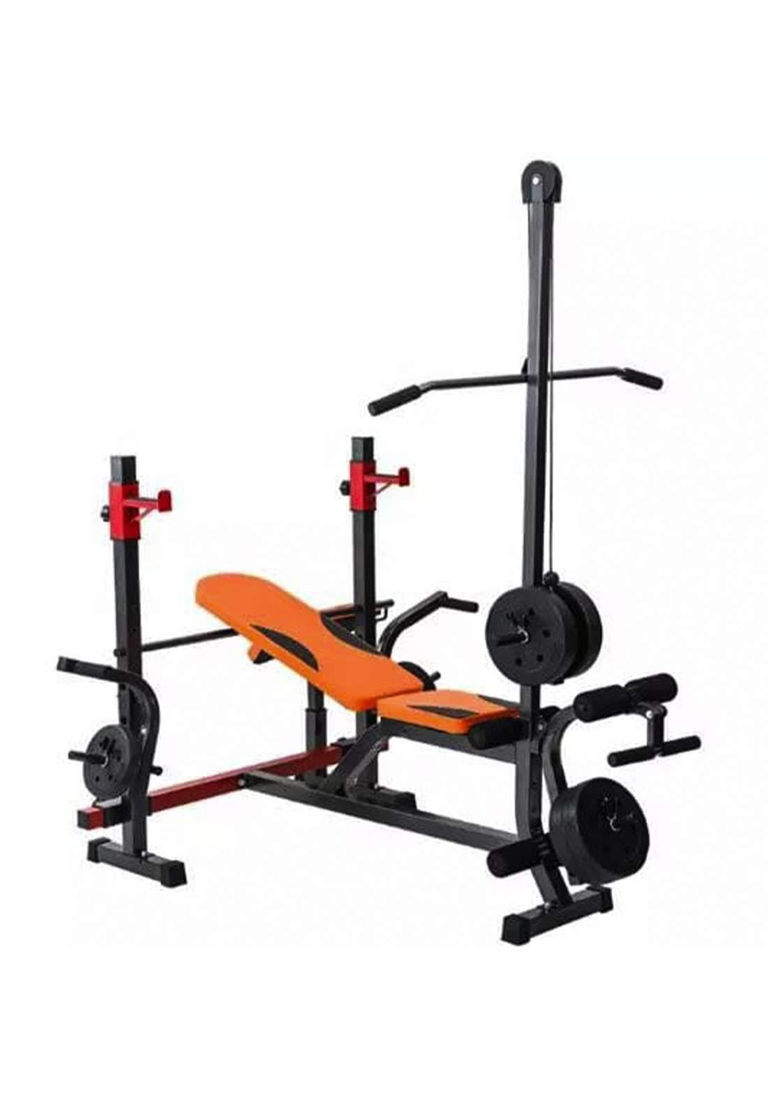 Multifunctional weight training bench مقعد التمارين الرياضية