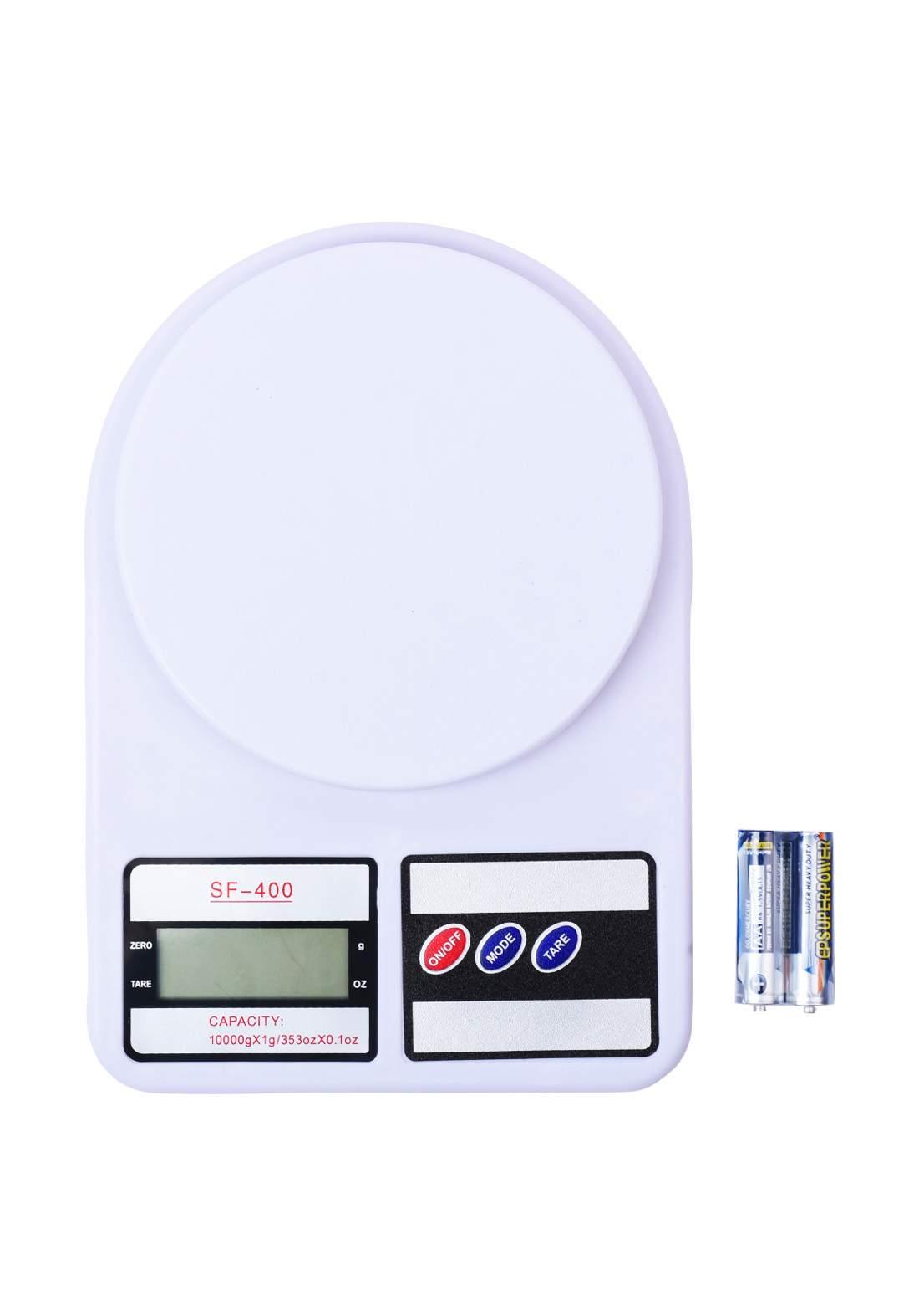 Capacity Digital-SF-400 Electronic Scale 10kg ميزان طعام الالكتروني