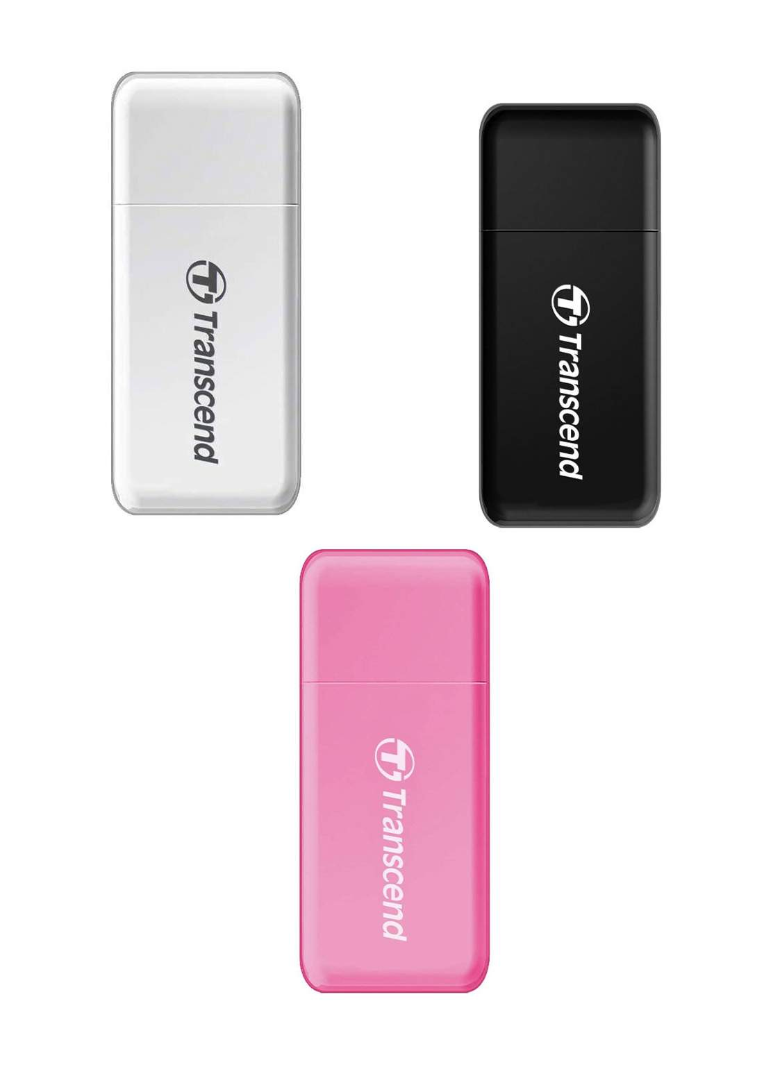 Transcend RDF5 USB 3.0 Memory Card Reader قارئ بطاقات الذاكرة