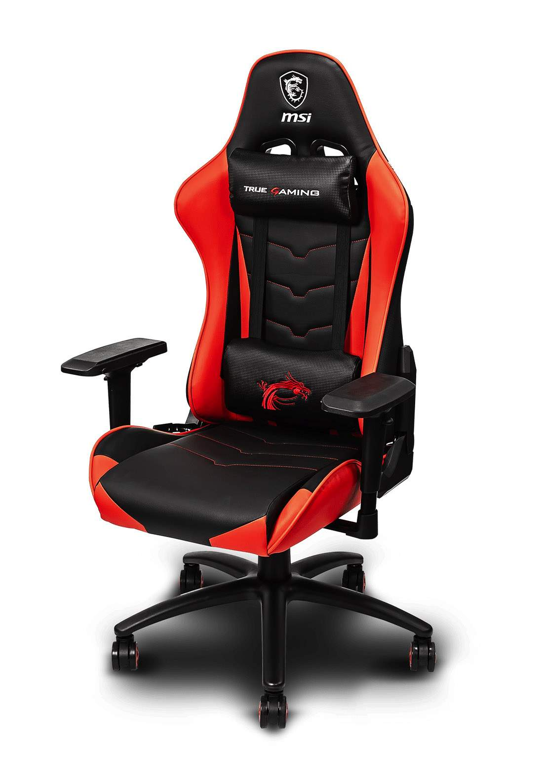 MSI MAG CH120 Gaming Chair - Black and Red كرسي العاب