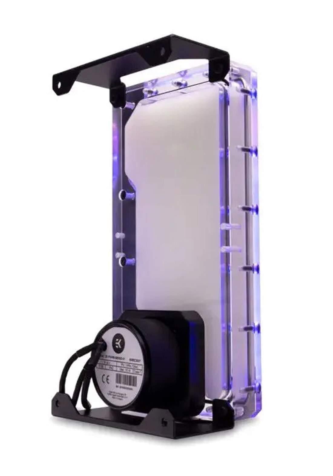 EK Quantum Kinetic FLT 360 Body D-RGB  Plexi