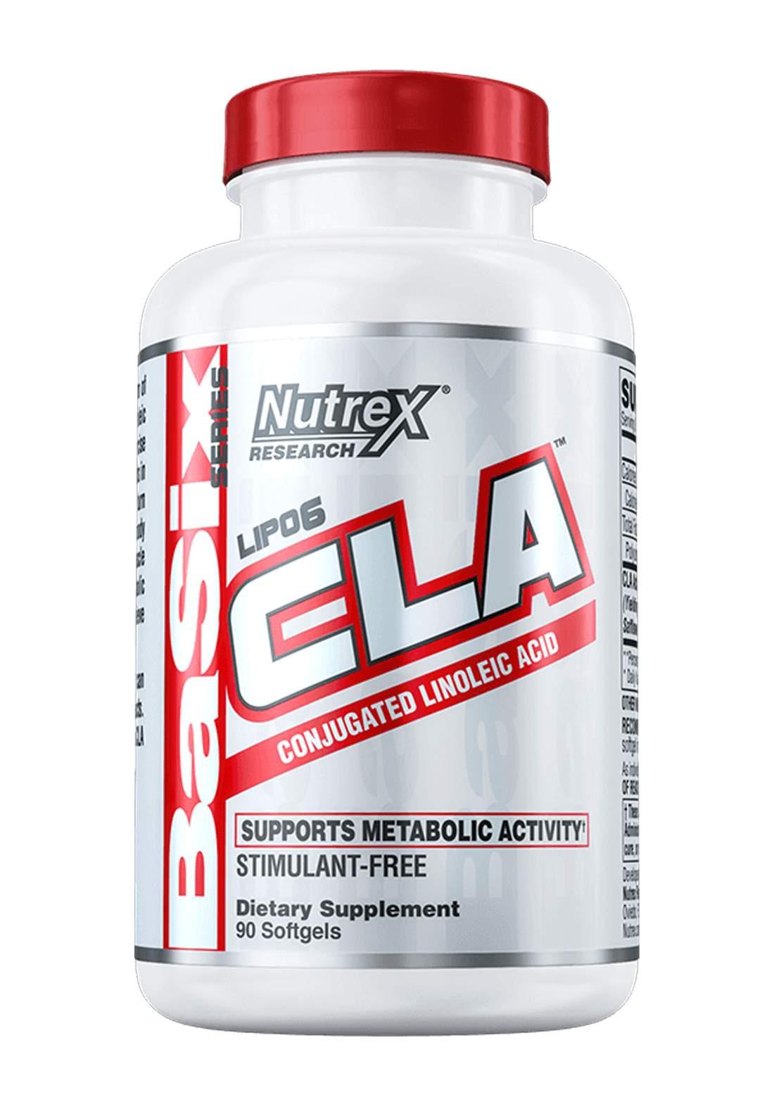 Nutrex Lipo 6  CLA Conjugated Linoleic Acid 90 Soft Gel 1000mg   مكمل غذائي لانقاص الوزن