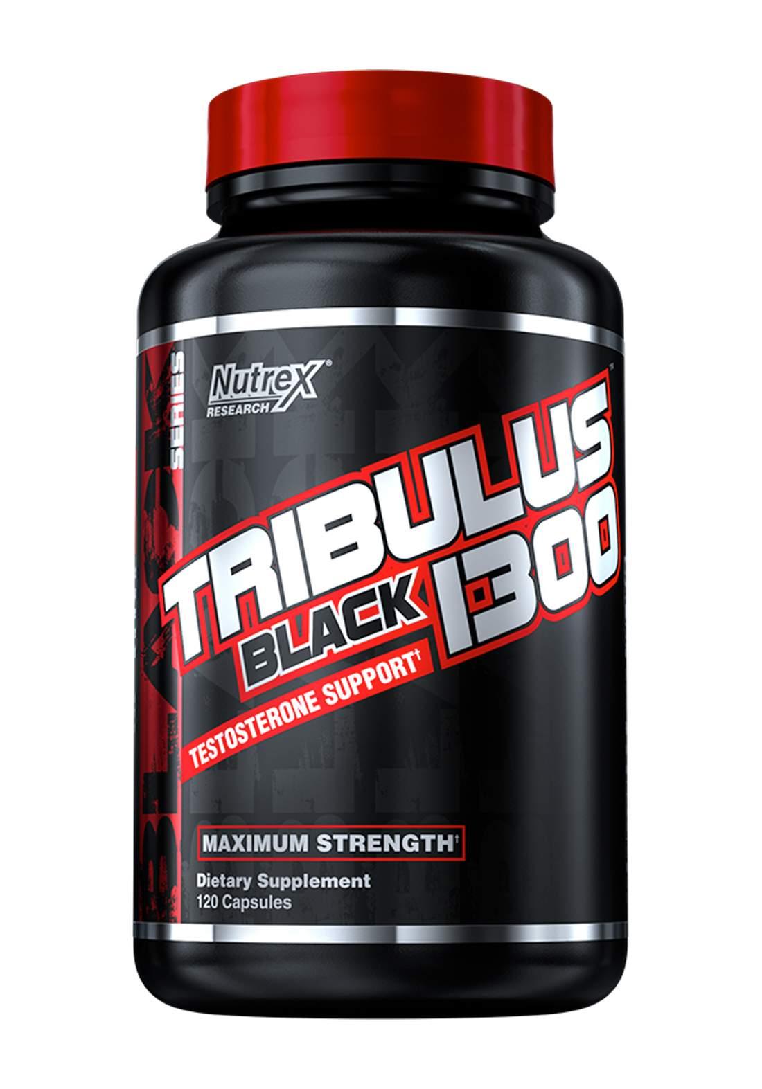 Nutrex Tribulus Black 1300 Testosterone Support 120 capsules مكمل غذائي