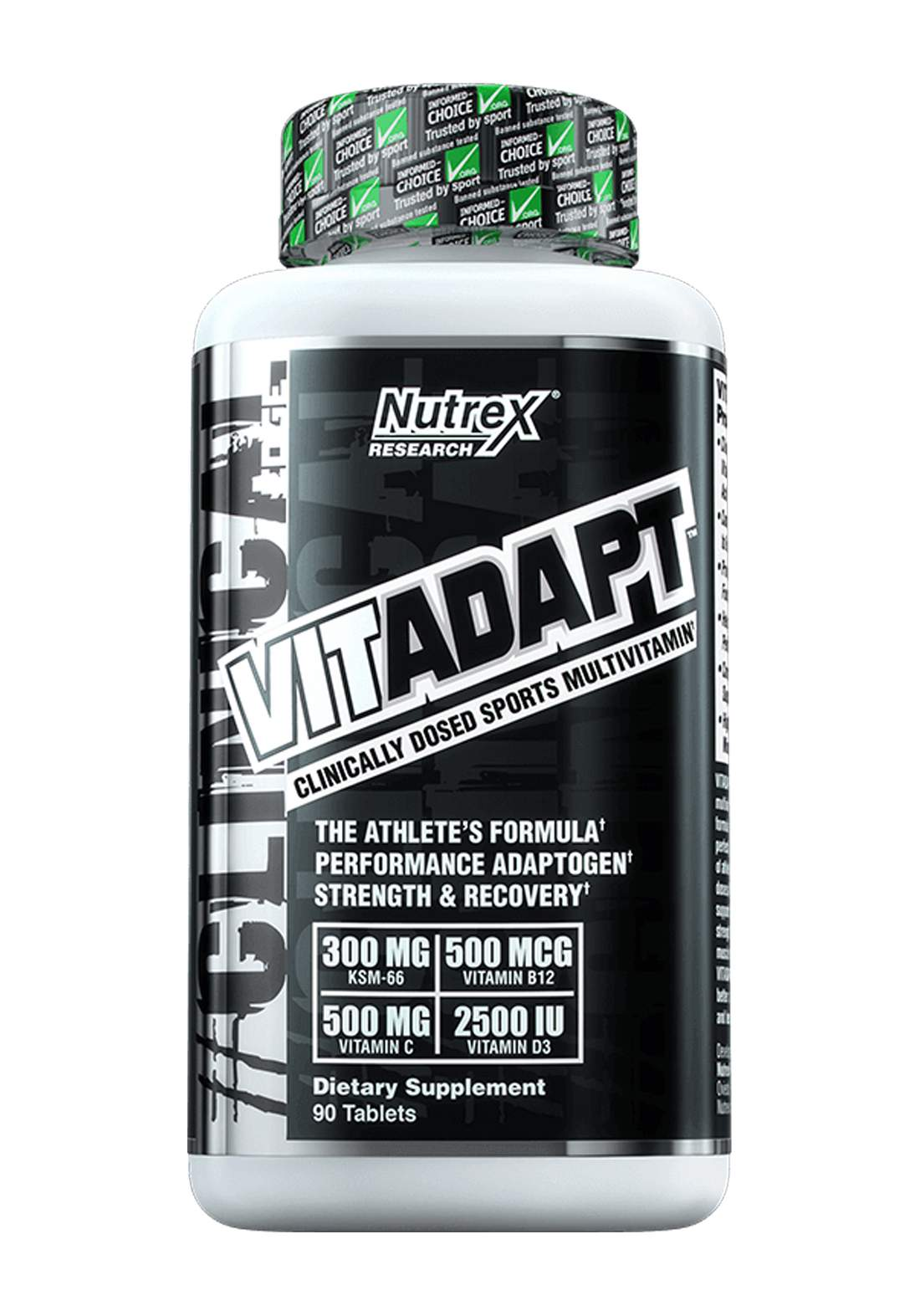 Nutrex VitaAdapt Clinically Dosed Sports MultiVitamin 90 Tablets   مكمل غذائي