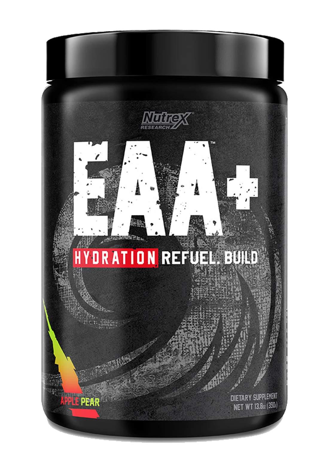 Nutrex Research EAA Hydration Refulel Build Apple Pear  30 Serve مكمل احماض امينية