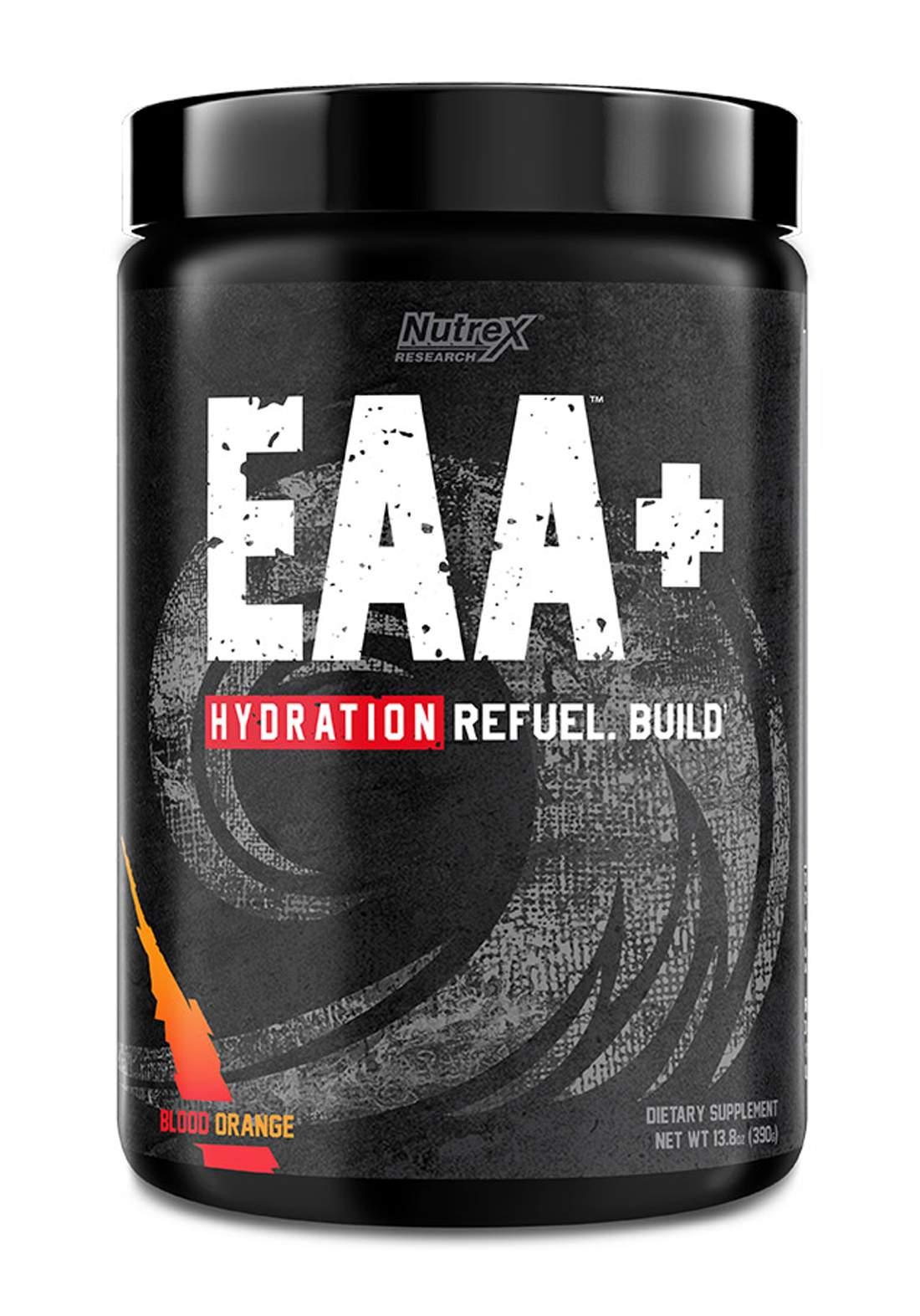 Nutrex Research EAA Hydration Refulel Blood Orange  30 Serve مكمل احماض امينية