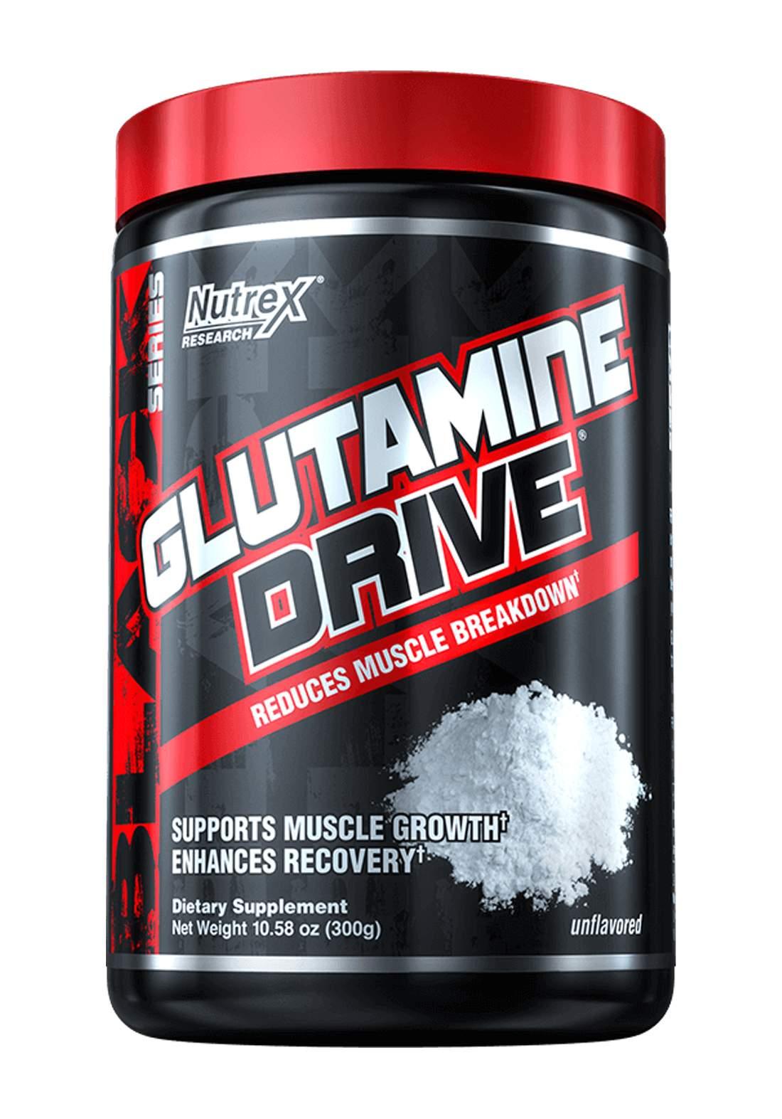 Nutrex Glutamine Drive  Muscle Breakdown 1000g مكمل غذائي لانقاص الوزن