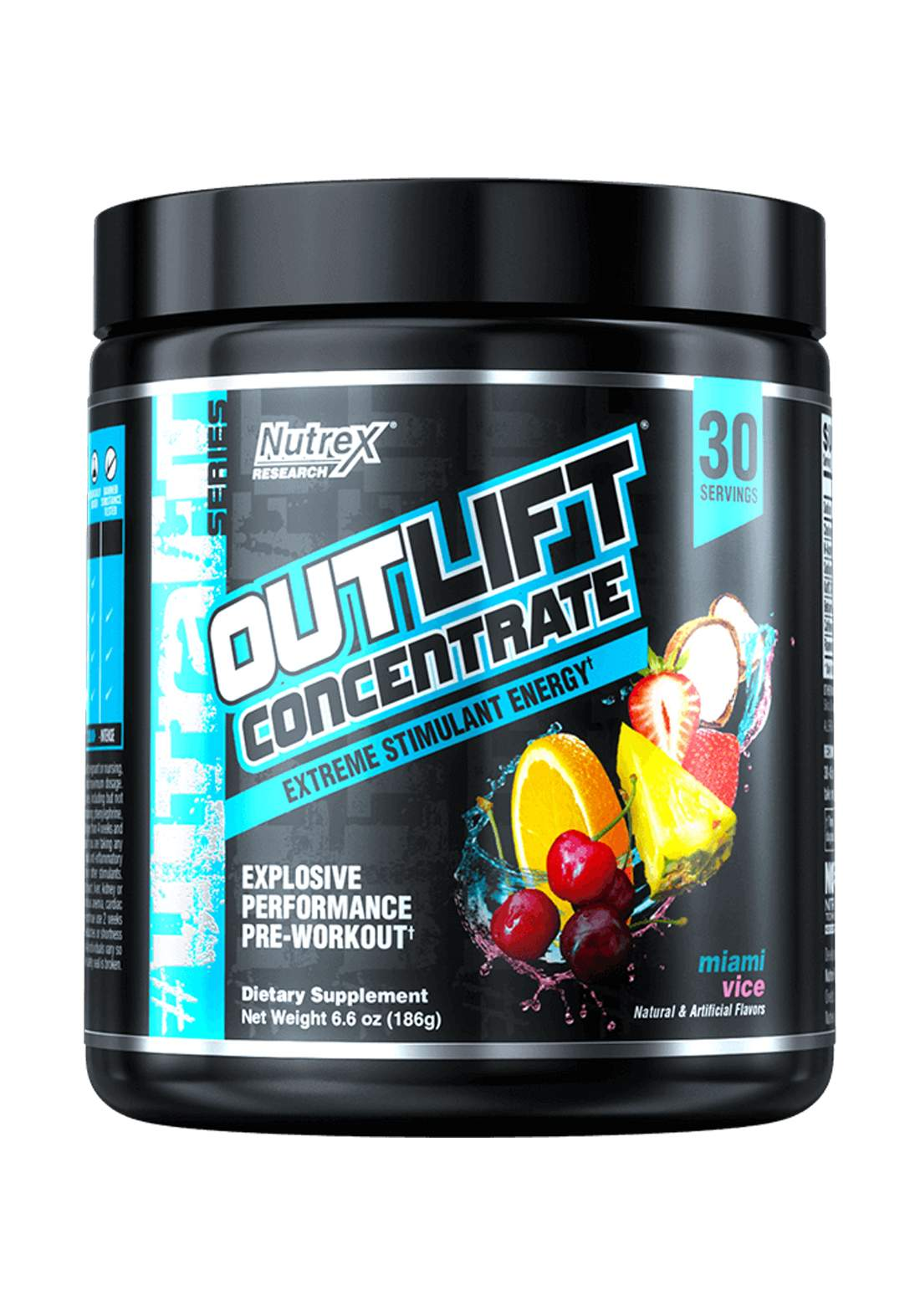 Nutrex Outlift Concentrate Extreme Energy Stimulant Miami Vice 30 Servings  مكمل غذائي