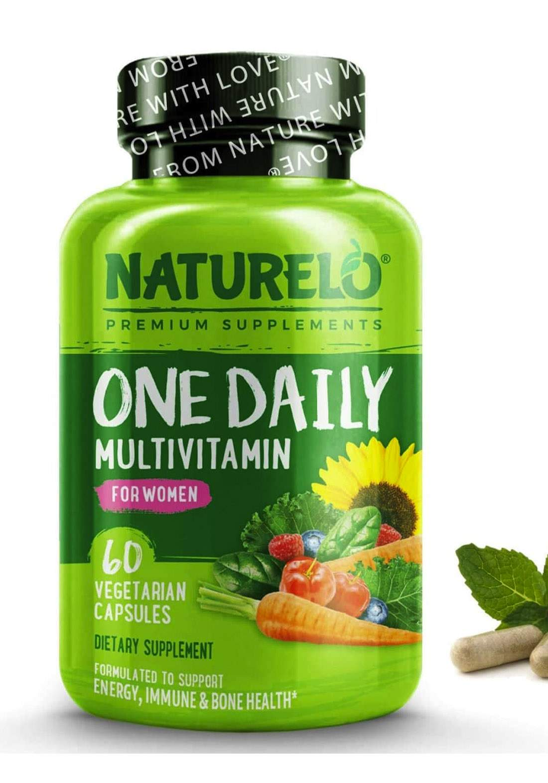 Naturelo  Multivitamin For Women 60 Capsules Vegetarian فيتامينات