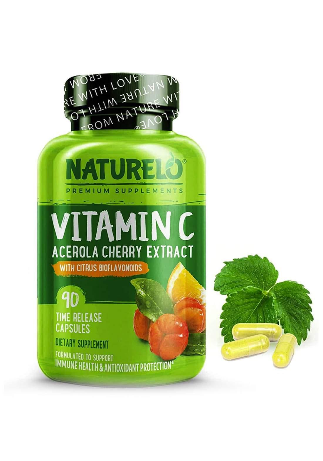 Natrurelo Vitamin C Complex 90 Capsules  فيتامين سي 90 كبسولة