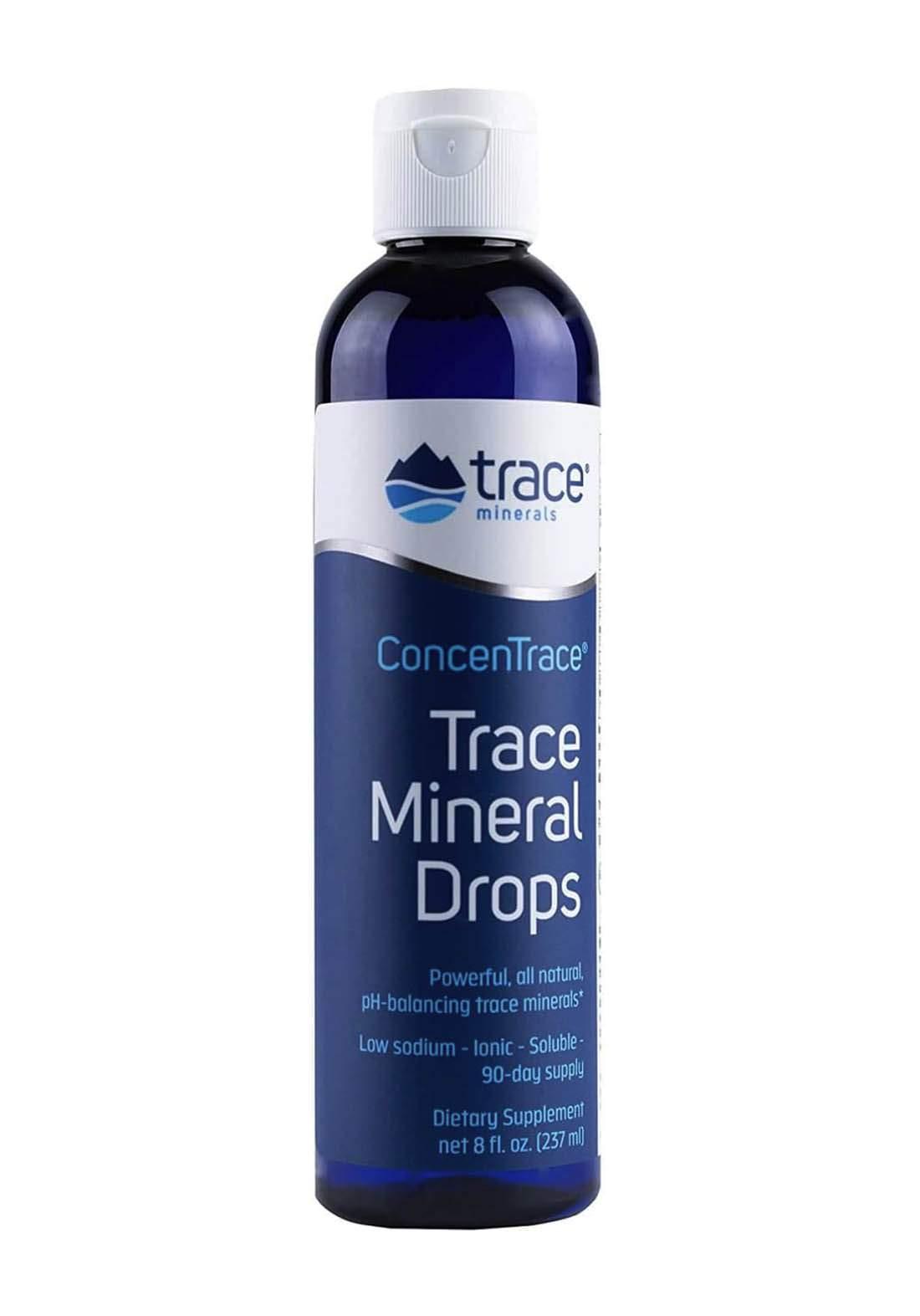 Trace Mineral Drops 237ml فيتامين قطرات