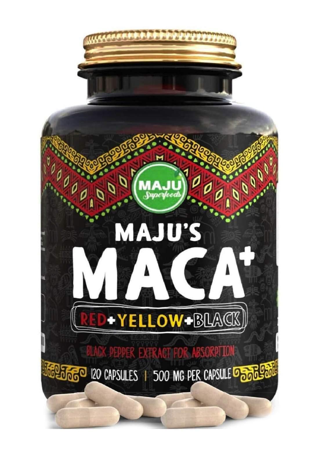 Majus Maca 120 Capsules 500 Mg فيتامين عشبة المكا 120 كبسولة