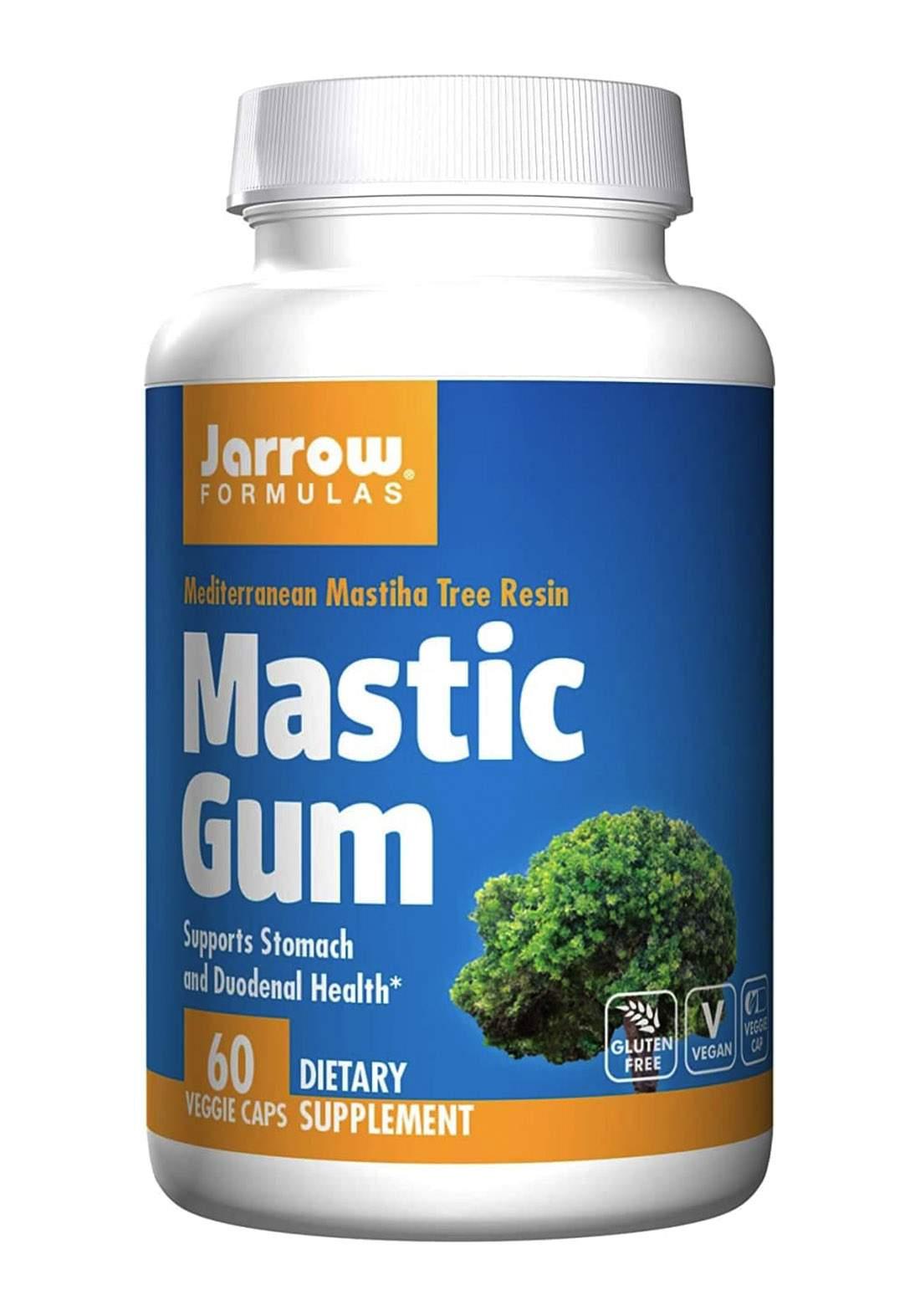 Jarrow Formulas Mastic Gum 1000 mg - 60 Vegetarian Capsules مكمل غذائي