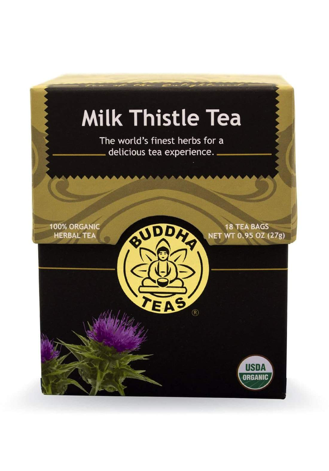 Buddha Organic Milk Thistle Tea 18 tea bags 27g شاي شوك الجمل
