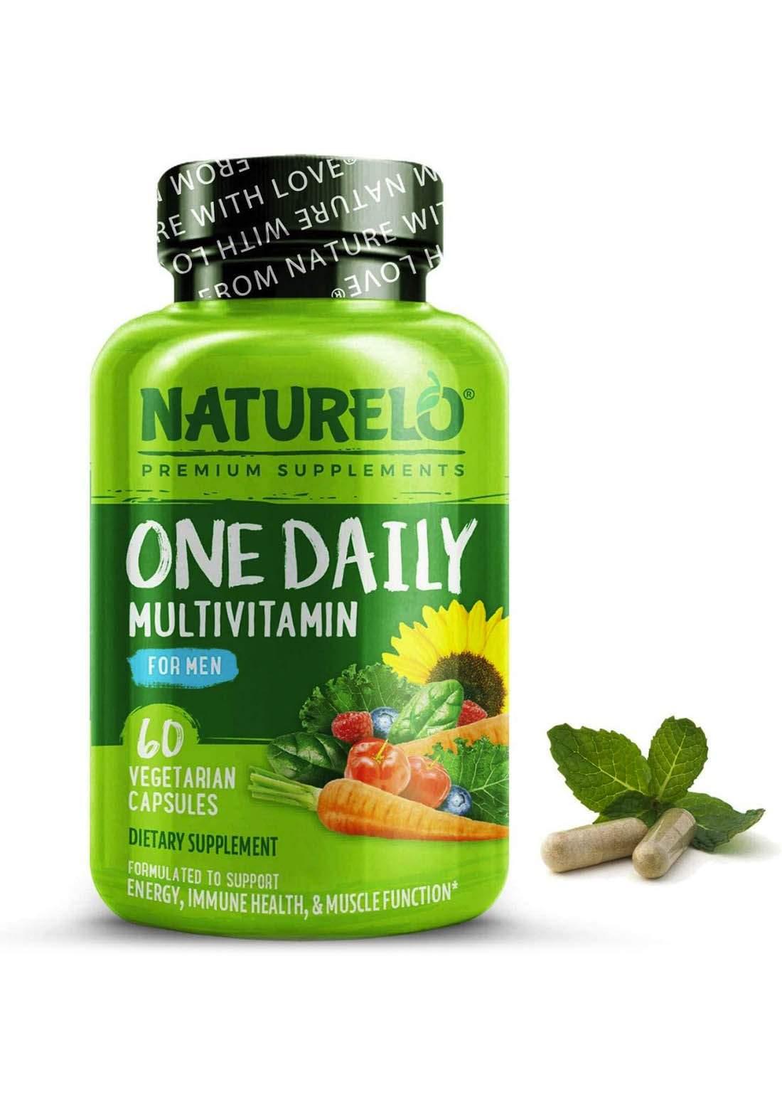 Natuurelo Premium Suppliments Multi Vitamin 60  Capsules مكمل غذائي للرجال
